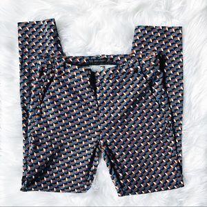 ZARA   patterned pants